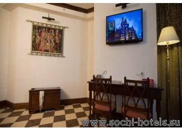 Отель «Богатырь» 2-местный джуниор-сьют