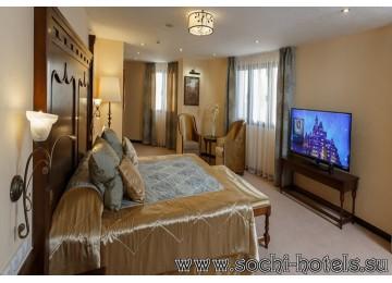 Отель «Богатырь» 2-местный люкс Короля