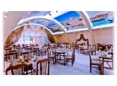 Отель «Экодом» Внешний вид, территория, столовая