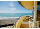 Отель «Лазурь Beach Hotel» Вид из номера на пляж
