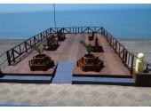 Отель « Лазурь Beach Hotel» Пляж