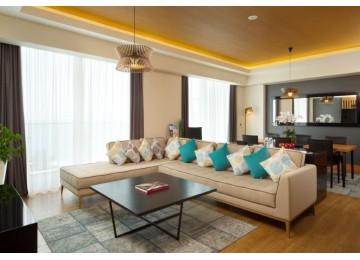 Президентский люкс 2-местный 2-комнатный | Отель «Radisson Blu Paradise Resort & Spa Sochi