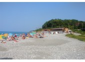 "База отдыха ""Сочи Inn"" (бывшая ""АнБеранда""), пляж"