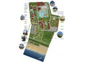 Отель  «Замок у моря»   карта комплекса
