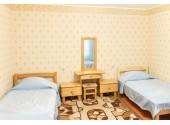 Санаторно курортный комплекс «АкваЛоо» 2-местный семейный номер в домике Морская прохлада №1, 2, 3