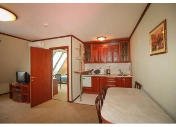 Люкс 2-комнатный с встроенной кухней (Генрих 1)
