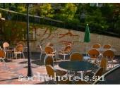 Санаторий Радуга,  летнее кафе.