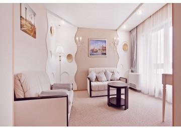 Сьют 2-местный 3-комнатный | Отель Алеан Фэмили Резорт Спутник